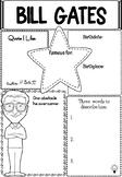 Graphic Organizer : Bill Gates
