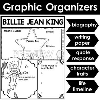 Graphic Organizer : Billie Jean King