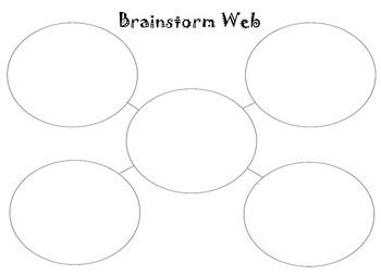 Graphic Organizer - Brainstorming Web