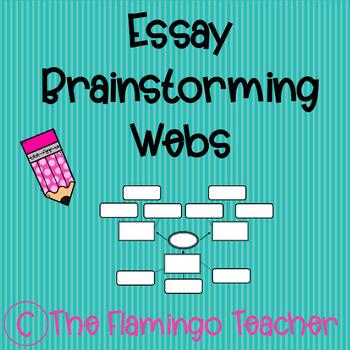 Graphic Organizer Brainstorming Web