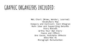 Graphic Organizer Bundle!