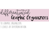Differentiated Graphic Organizers for Special Education
