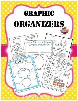 Over 20+ Graphic Organizers Bundle