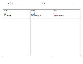 Graphic Organizer Bundle **Freebie**
