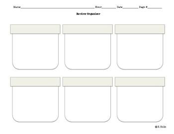 Graphic Organizer Bundle - Landscape