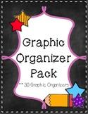 Graphic Organizer Bundle Pack {30 Graphic Organizers}