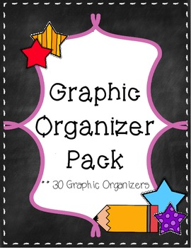 Graphic Organizer Bundle Pack {30 Graphic Organizers}