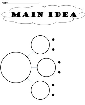 Graphic Organizer Bundle! Six Styles included.