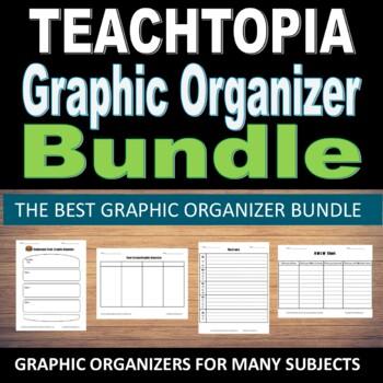 Graphic Organizer Bundle.  Teachtopia's  Graphic Organizer Collection