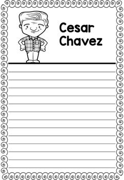 Graphic Organizer : Cesar Chavez