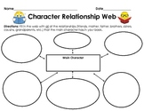 Graphic Organizer: Character Relationship Web