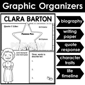 Graphic Organizer : Clara Barton