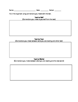 Graphic Organizer Collection for Reading
