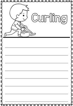 Graphic Organizer: Curling : Winter Olympics 2018, Winter Sports
