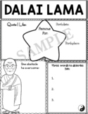 Graphic Organizer : Dalai Lama - World Leaders and Cultural Icons
