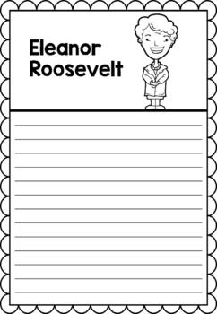 Graphic Organizer : Eleanor Roosevelt