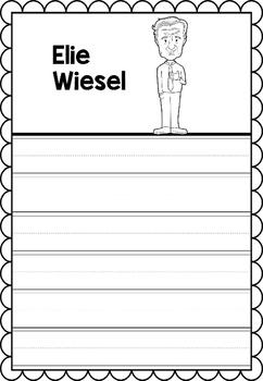 Graphic Organizer : Elie Wiesel