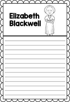 Graphic Organizer : Elizabeth Blackwell