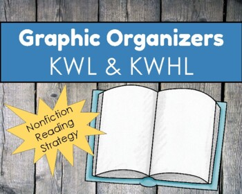 Graphic Organizer FREEBIE!  KWL/KWHL