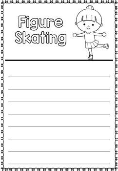 Graphic Organizer: Figure Skating: Winter Olympics 2018, Winter Sports