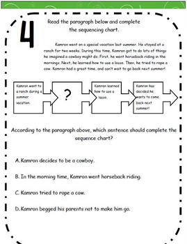 Graphic Organizer: Finding the Missing Information