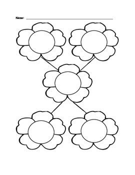 Graphic Organizer (Flower)