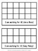 Special Education: Graphic Organizer Folder - Behavior Process #3
