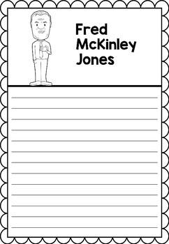 Graphic Organizer : Fred McKinley Jones - Inspiring African American Figures
