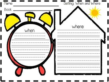 Graphic Organizer Freebie- Setting