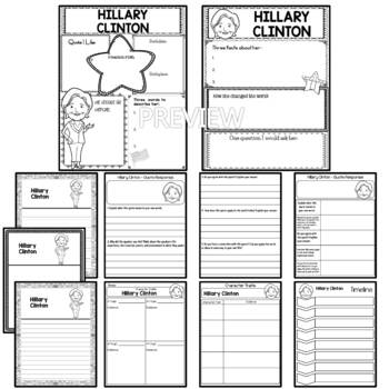 Graphic Organizer : Hillary Clinton