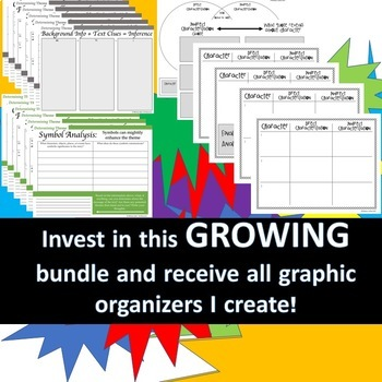 Graphic Organizer GROWING Bundle