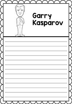 Graphic Organizer : Garry Kasparov