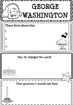 Graphic Organizer : George Washington