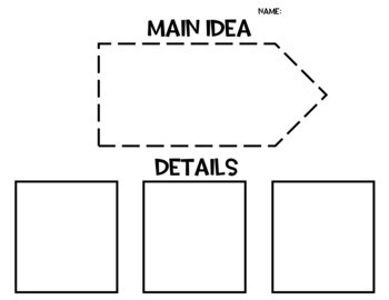 Graphic Organizer - Growing Bundle - Reading Comprehension