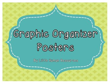 Graphic Organizer Guide Posters