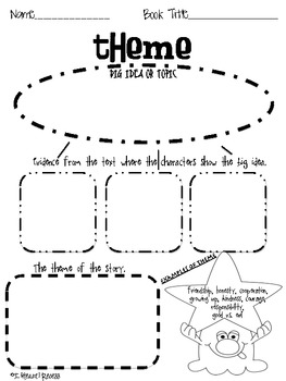 Graphic Organizer: Identify Theme