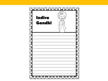 Graphic Organizer : Indira Gandhi