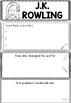 Graphic Organizer : J.K. Rowling