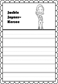Graphic Organizer : Jackie Joyner-Kersee