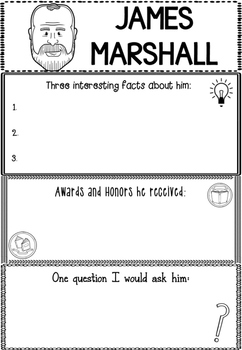 Graphic Organizer : James Marshall :  Awesome Authors
