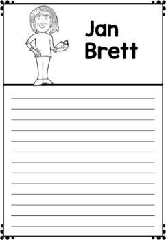 Graphic Organizer : Jan Brett : Awesome Authors