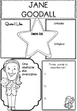 Graphic Organizer : Jane Goodall