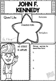 Graphic Organizer : John F. Kennedy