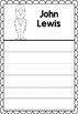 Graphic Organizer : John Lewis - Inspiring African American Figures