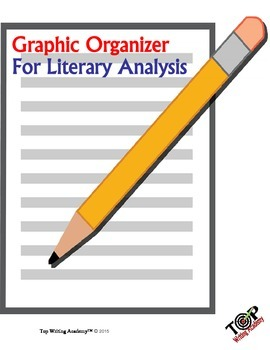 Literary Analysis Graphic Organizer By Top Writing And Reading Academy