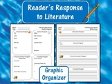 Reader's Response to Literature Graphic Organizer:  Literature Book Review