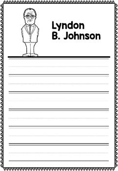Graphic Organizer : Lyndon B. Johnson
