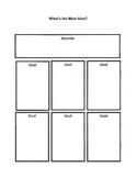 Graphic Organizer: Main Idea, 6 Details