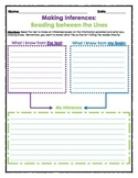 Graphic Organizer: Making Inferences