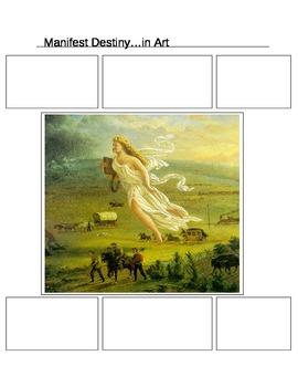 Graphic Organizer: Manifest Destiny Painting